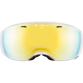Alpina Estetica QVMM Gafas de esquí, white gold spherical